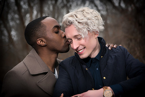 gay and lesbian engagement photoshoot outside sessions photographers LGBTQ